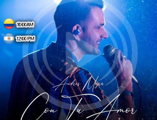 EN EXCLUSIVA!!! ANDRES MEJIA POR LA 104.9FM LA RADIO DE MI PADRE