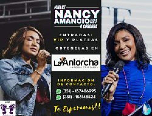 NANCY AMANCIO EN CÓRDOBA Y PRODUCCIONES VIDA OBSEQUIA ENTRADAS